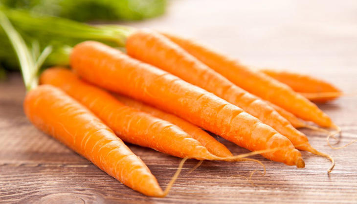 Safra de verão da cenoura vai chegando ao fim